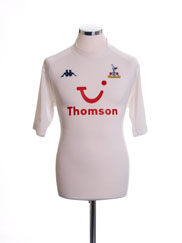 2004-05 Tottenham Home Shirt M