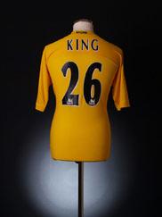 2004-05 Tottenham Third Shirt King #26 XL