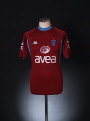 2004-05 Trabzonspor Third Shirt M