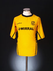 2004-05 Tranmere Rovers Away Shirt M