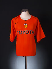 2004-05 Valencia Away Shirt XL