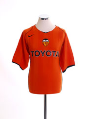 2004-05 Valencia Away Shirt L
