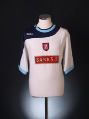 2004-05 Walsall Away Shirt L