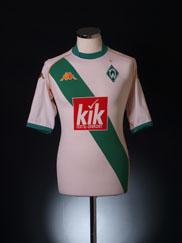 2004-05 Werder Bremen Away Shirt M