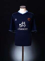 2004-05 Wolves Away Shirt XL