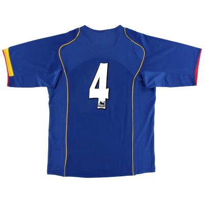 2004-06 Arsenal Away Shirt #4 M