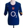 2004-06 Arsenal Away Shirt Bergkamp #10 L