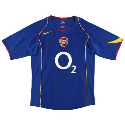 2004-06 Arsenal Away Shirt L.Boys