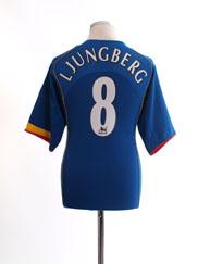 2004-06 Arsenal Away Shirt Ljungberg #8 L