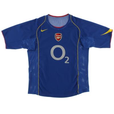 2004-06 Arsenal Away Shirt M.Boys