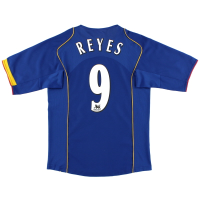 2004-06 Arsenal Away Shirt Reyes #9 S