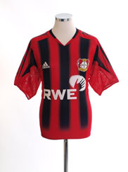 2004-06 Bayer Leverkusen Home Shirt L