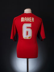 2004-06 Bournemouth Home Shirt Maher #6 XL