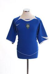 2004-06 Brazil Away Shirt L