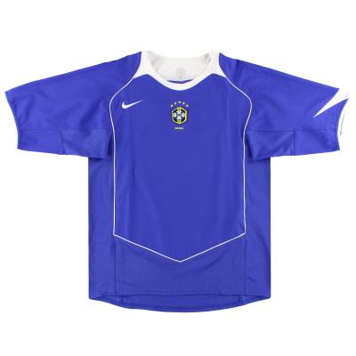 2004-06 Brazil Nike Away Shirt S