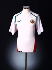 2004-06 Bulgaria Home Shirt L