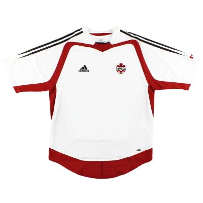 2004-06 Canada adidas Away Shirt L