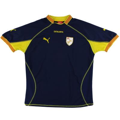 2004-06 Catalunya Puma Away Shirt #18 L