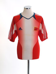 2004-06 China Training Shirt L