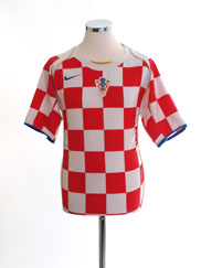 2004-06 Croatia Home Shirt M