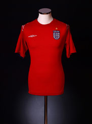 2004-06 England Away Shirt L