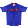 2004-06 France adidas Home Shirt Zidane #10 L