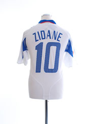 2004-06 France Away Shirt Zidane #10 *BNWT* M