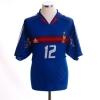 2004-06 France Home Shirt Henry #12 XL