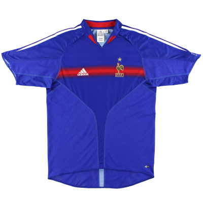 2004-06 France Home Shirt L