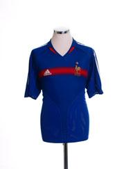 2004-06 France Home Shirt M