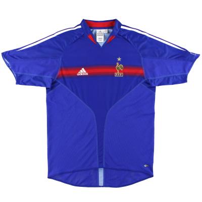 2004-06 France adidas  Home Shirt XL