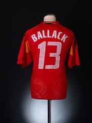 2004-06 Germany Third Shirt Ballack #13 L