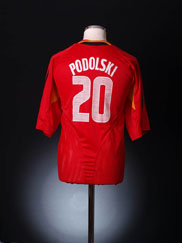 2004-06 Germany Third Shirt Podolski #20 XXL