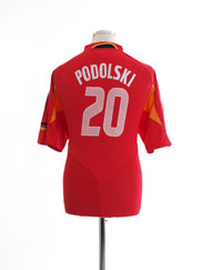 2004-06 Germany Third Shirt Podolski #20 XL