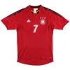 2004-06 Germany adidas Third Shirt Schweinsteiger #7 M
