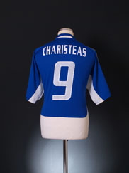 2004-06 Greece Home Shirt Charisteas #9 XL
