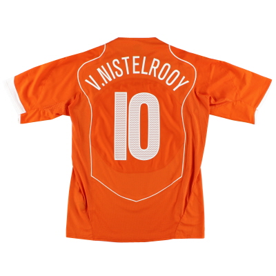 2004-06 Holland Player Issue 'Authentic' Limited Edition Home Shirt van Nistelrooy #10 *In Box* L