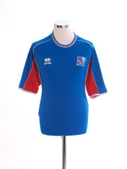 2004-06 Iceland Home Shirt L