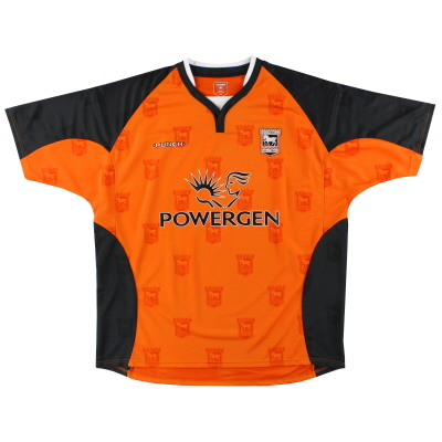2004-06 Ipswich Punch Away Shirt XXL