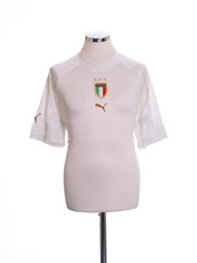 2004-06 Italy Away Shirt M