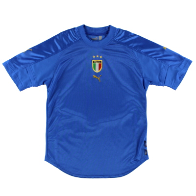2004-06 Italy Puma Home Shirt M