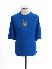 2004-06 Italy Home Shirt M