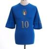 2004-06 Italy Home Shirt R.Baggio #10 XL