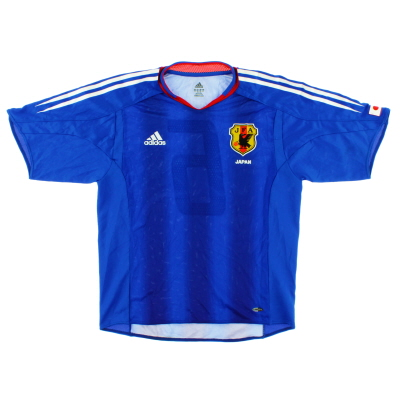 2004-06 Japan Player Issue Home Shirt #6 S
