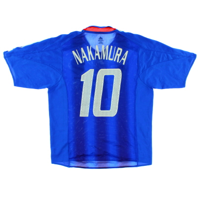 2004-06 Japan Player Issue Home Shirt Nakamura #10 M