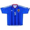 2004-06 Japan Player Issue Home Shirt Kiyohara #5 M