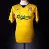2004-06 Liverpool Away Shirt Gerrard #8 *Mint* M