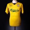 2004-06 Liverpool Away Shirt Gerrard #8 XS