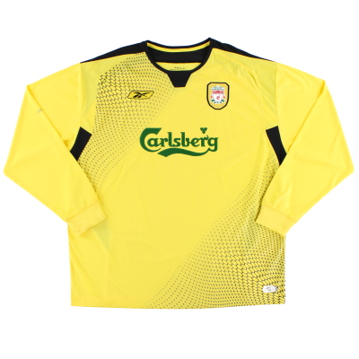 2004-06 Liverpool Away Shirt L/S XXL