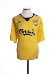 2004-06 Liverpool Away Shirt M